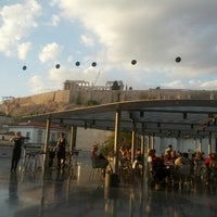 Photo taken at Cafe & Restaurant at Acropolis Museum by Paula D. on 10/3/2012
