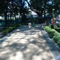 Photo taken at Taman Flora by MurNi Hidayat W. on 6/9/2015