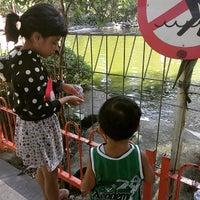 Photo taken at Taman Flora by MurNi Hidayat W. on 5/28/2015