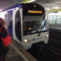 Photo taken at Metrolijn E (Den Haag Centraal) by Robbert S. on 10/2/2013