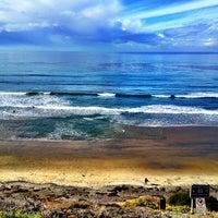 Photo taken at Beacon's Beach by Heidi A. on 1/6/2013