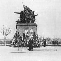 Photo taken at Мемориал Героям Ольшанцам by Oleksandr Z. on 2/20/2015