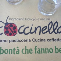 Photo taken at Coccinella Bio by Giuseppe G. on 8/12/2013