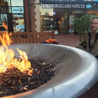 Photo taken at Festive Fireplace at Ghirardelli Square by Ruslan A. on 9/15/2014