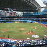 Photo taken at Rogers Centre by Adam P. on 9/1/2013