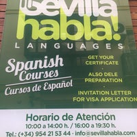 Photo taken at Sevilla Habla Languages - Spanish Courses in Seville - Cursos de español en Sevilla - Cursos de inglés en Sevilla by serialjane on 3/20/2017