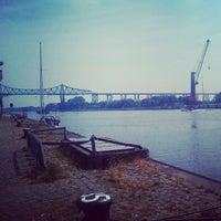 Photo taken at Kanal Rendsburg by Marie M. on 7/26/2013