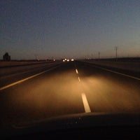 Photo taken at on the road by Abdullah A. on 2/11/2014
