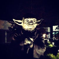Photo taken at Yoda Statue by Robin W. on 9/16/2013