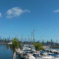 Photo taken at Muelle Deportivo by laura g. on 11/7/2014
