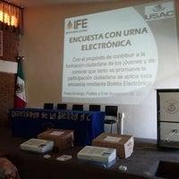 Photo taken at Universidad De La Sierra by Hector M. on 11/5/2013