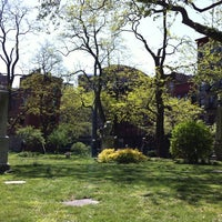 Photo taken at New York City Marble Cemetery by Michael on 5/5/2013