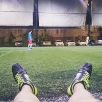 Photo taken at The Hattrick Football Club by Chaiyaphon D. on 10/24/2015