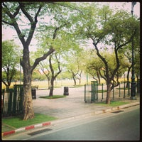 Photo taken at Sanam Luang by Chaiyaphon D. on 4/3/2013