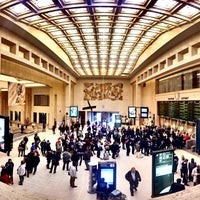 Photo taken at Brussels Central Station by Ahmet E. on 5/11/2013