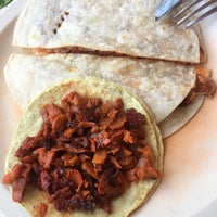 Photo taken at Chiarcos Taquería by Andrea H. on 3/13/2017