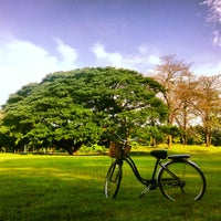 Photo taken at Vachirabenjatas Park (Rot Fai Park) by Adventure G. on 6/2/2013