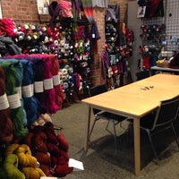 Photo taken at Bee Hive Wool Shop by John K. on 11/30/2013