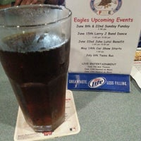 Photo taken at Eagles Club 2228 by Curtiss J. on 6/18/2014