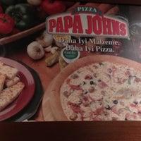 Photo taken at Papa John's Pizza by Mehmet U. on 2/5/2013