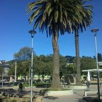 Photo taken at Plaza de Armas Talcahuano by Jaime b. on 12/31/2012