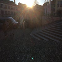 Photo taken at Augustinerplatz by Patrick S. on 2/13/2018