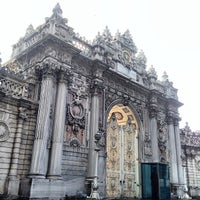 Photo taken at Dolmabahçe Palace by takesea on 11/15/2012