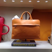 Photo taken at Mandarina Duck by Wynton O. on 1/10/2014