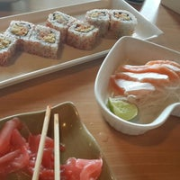 Photo taken at DE'SUSHI by Regina K. on 9/4/2013