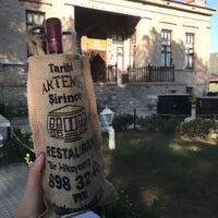 9/23/2018 tarihinde Merveziyaretçi tarafından Artemis Restaurant & Şarap Evi'de çekilen fotoğraf