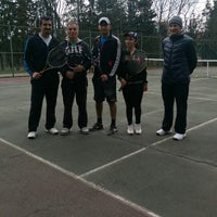 Photo taken at Ataköy 9. Kısım Tenis Kortları by Feyzaa on 3/1/2015