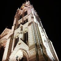 Photo taken at Saint Francis Xavier College Church by Nick F. on 6/12/2013