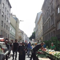 Photo taken at Viktor-Adler-Markt by Anna Genial L. on 9/18/2014
