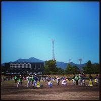 Photo taken at 五島市中央公園 by Toshiyuki S. on 8/18/2013