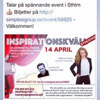 Photo taken at Sverigefinska skolan i Stockholm by Angela A. on 3/2/2015