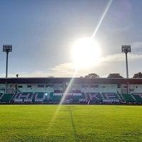 Photo taken at Surakul Sports Stadium by Unlimit'z O. on 6/6/2016