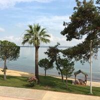 Photo taken at Kolaylı Beach by Orhan O. on 7/7/2016