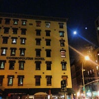 Photo taken at Cosmopolitan Hotel - TriBeCa by James C. on 8/20/2013