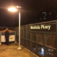 Photo taken at MTA Subway - Mosholu Parkway (4) by James C. on 11/23/2013
