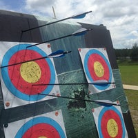 Photo taken at Easton Archery - Range C by James C. on 6/19/2013