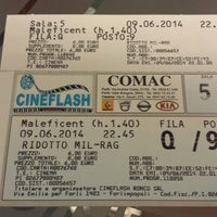 Photo taken at Cineflash by Lalla on 6/9/2014