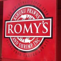 Photo taken at Romy's Kahuku Prawns & Shrimp Hut by ❤️Ƙҽ ժ. on 4/6/2014