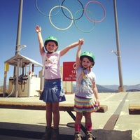 Photo taken at Skating Rink At Squaw Valley by Carrie S. on 8/15/2013