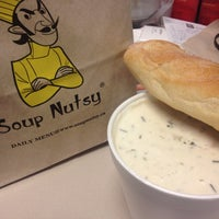 Photo taken at Soup Nutsy by Edward C. on 5/10/2013