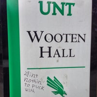 Photo taken at Wooten Hall by Will S. on 2/6/2013