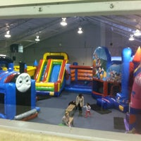 Photo taken at Bounce Fun Center by CJ K. on 1/6/2013