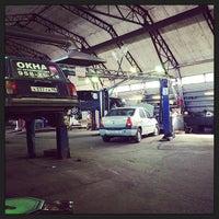 Photo taken at IRA autoservice by Alina K. on 5/18/2014