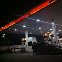 Photo taken at Shell Gas Station TB Simatupang by Rahmat M. on 2/26/2013