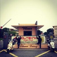 Photo taken at Politeknik Ungku Omar by Ehsan Hanafi on 9/17/2012