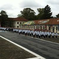 Photo taken at Academia de Polícia Militar do Barro Branco by Juliana O. on 12/15/2012